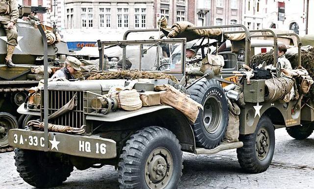 二战美军的既定战术:用工业挽回士兵的生命,盟军的运输大队长