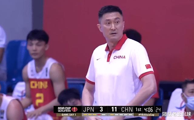 中国男篮12人轮转,日本无法破联防,杜锋表情包出炉