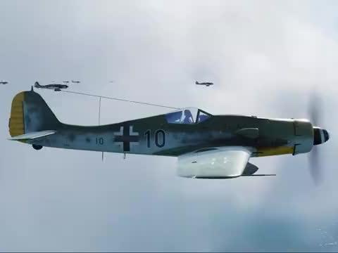 100架FW190来到现代,空袭20门火神加特林机炮能赢吗,战役模拟