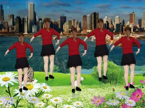 广场舞《玛尼情歌》,健身舞曲,时尚优美