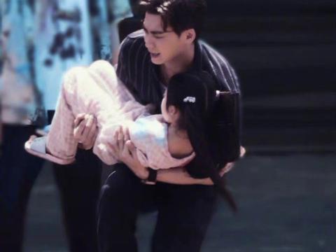 《暗夜行者》李易峰路透羡慕那个小女孩!我也想被峰峰抱在怀里!