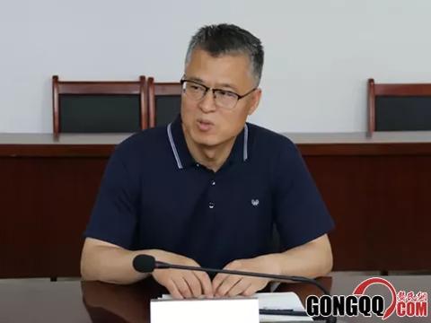 世邦集团董事长龚水明一行到绛县考察投资项目