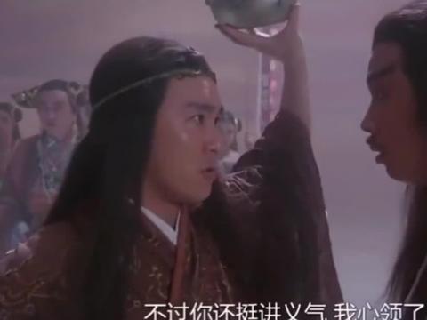 星爷饰降龙罗汉舌战群仙,连玉帝王母都不放在眼里