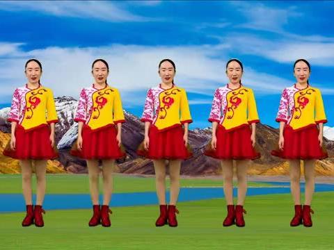美体健身舞《热辣辣》跟着欢快动感的节拍,让我们一起跳起来吧