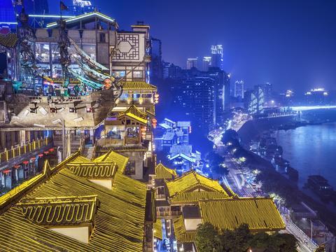 重庆最大的古建筑会馆,建在闹市之中,现在却少有游客知道