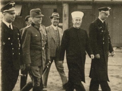 从未见过的巴勒斯坦穆夫提,访问纳粹德国的老照片