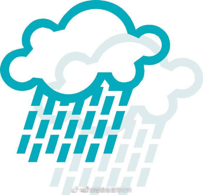 西安短时强降雨预报