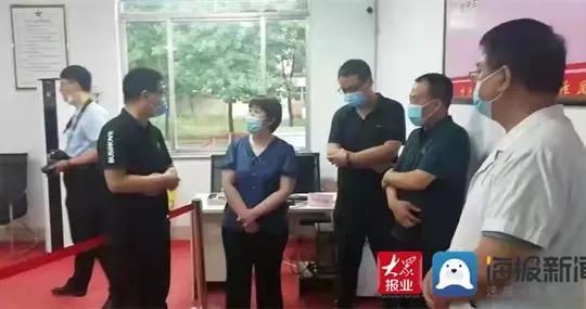 阳信县副县长马云霞到洋湖乡新冠疫苗临时接种点走访慰问