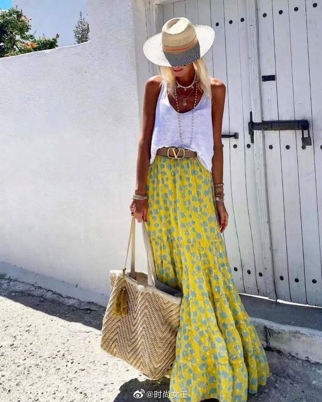 炎炎夏日怎么能少了一条漂亮的半裙呢……