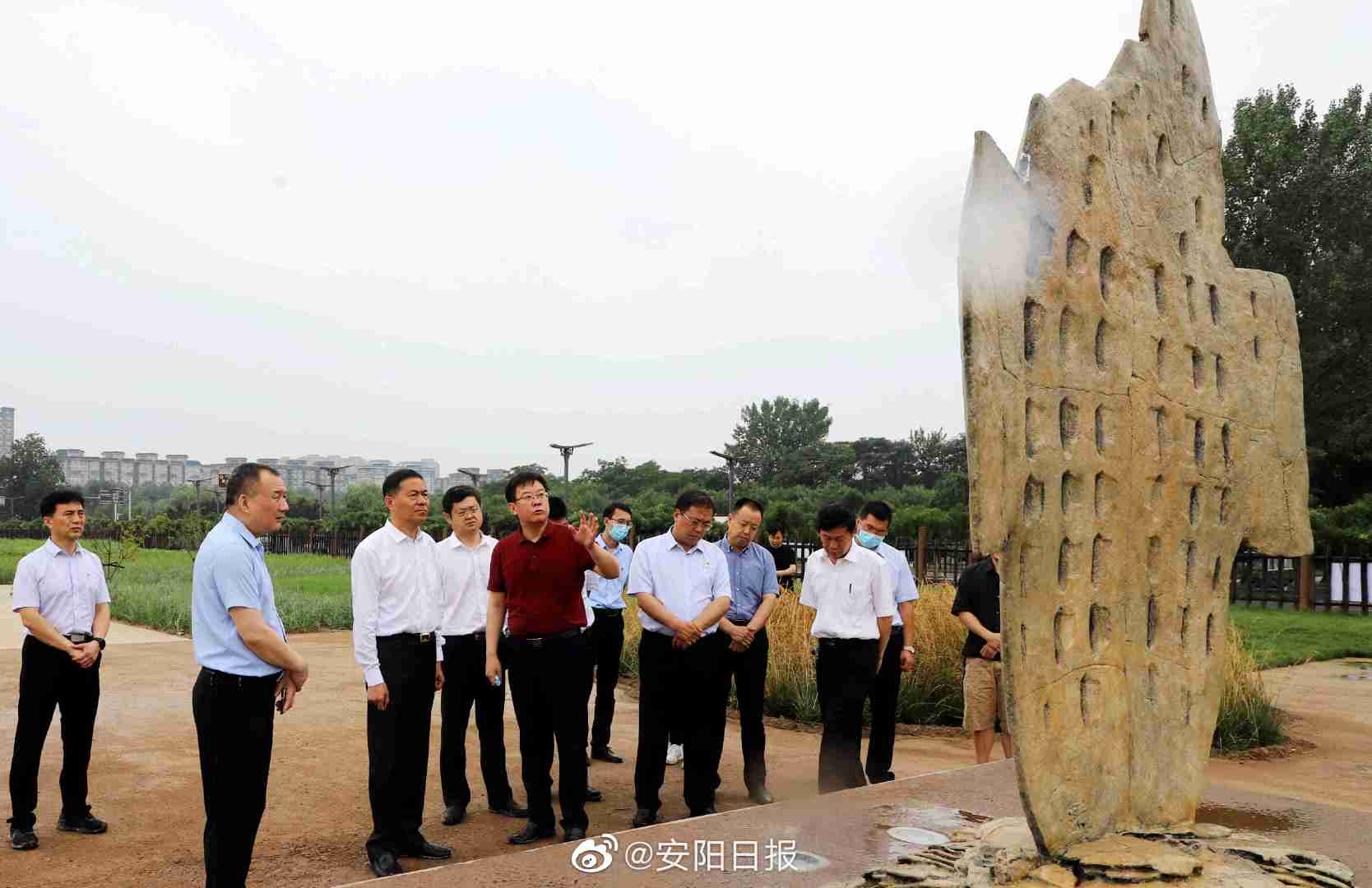 李公乐调研文化旅游产业重点项目