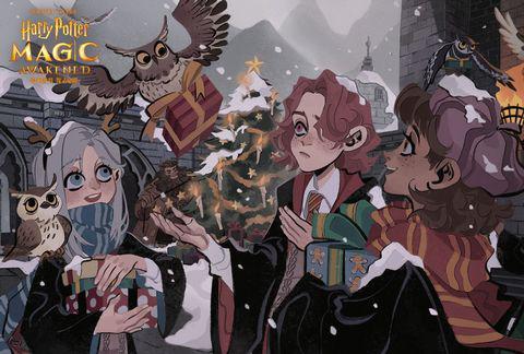 揭开霍格沃茨魔法课的奥秘,《哈利波特:魔法觉醒》课堂玩法攻略