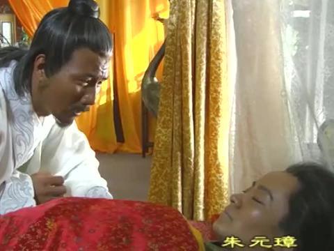 朱元璋死死守护马皇后尸体,拿刀砍了二虎后,又差点砍死朱标!