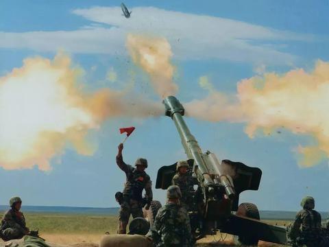 155毫米榴弹炮威力到底有多大呢?最大杀伤半径可覆盖一个足球场
