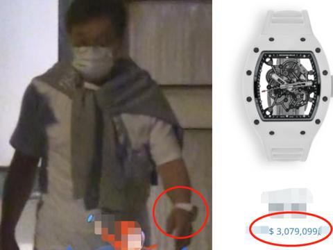 67岁成龙现身街头被偷拍!发量稀疏步伐蹒跚,腕上300万手表抢镜