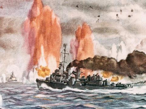 英勇和胆识:太平洋上两小时的战斗,使这名海军上尉成为传奇