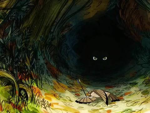 治愈动画电影《狼行者》,小女孩化身保护大森林