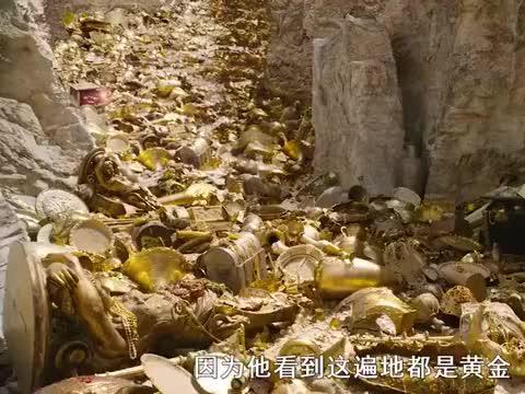 男孩不慎跌落悬崖,却意外找到遍地黄金,奇幻电影《纳尼亚传奇》