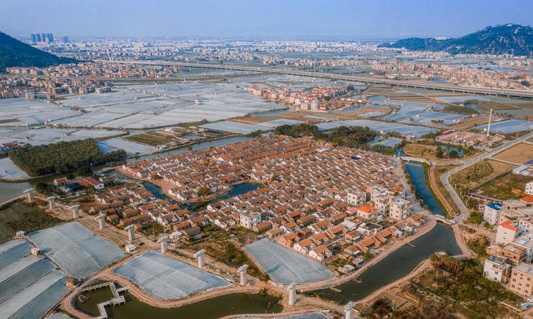 """福建的""""闽南第一村"""",距今已500多年历史,全村纵横排列超整齐"""
