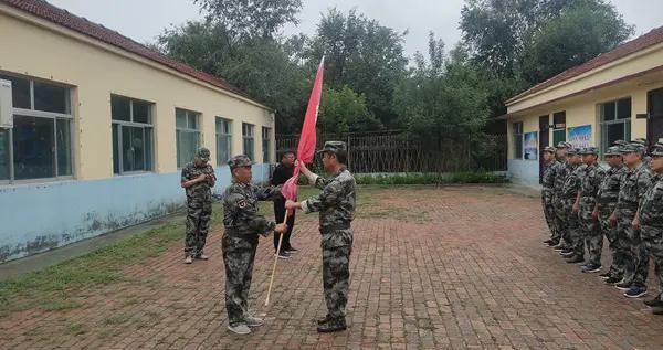 惠民县何坊街道前苏联村民兵应急排成立