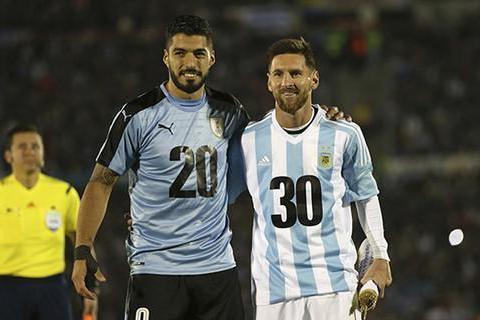 美洲杯6月19日赛程,阿根廷对阵乌拉圭,梅西苏亚雷斯各为其主