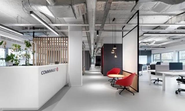 轻工业风简约办公室设计,声学被重点考虑