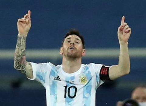 阿根廷队状态低迷,PK乌拉圭之前,梅西收到一喜两忧