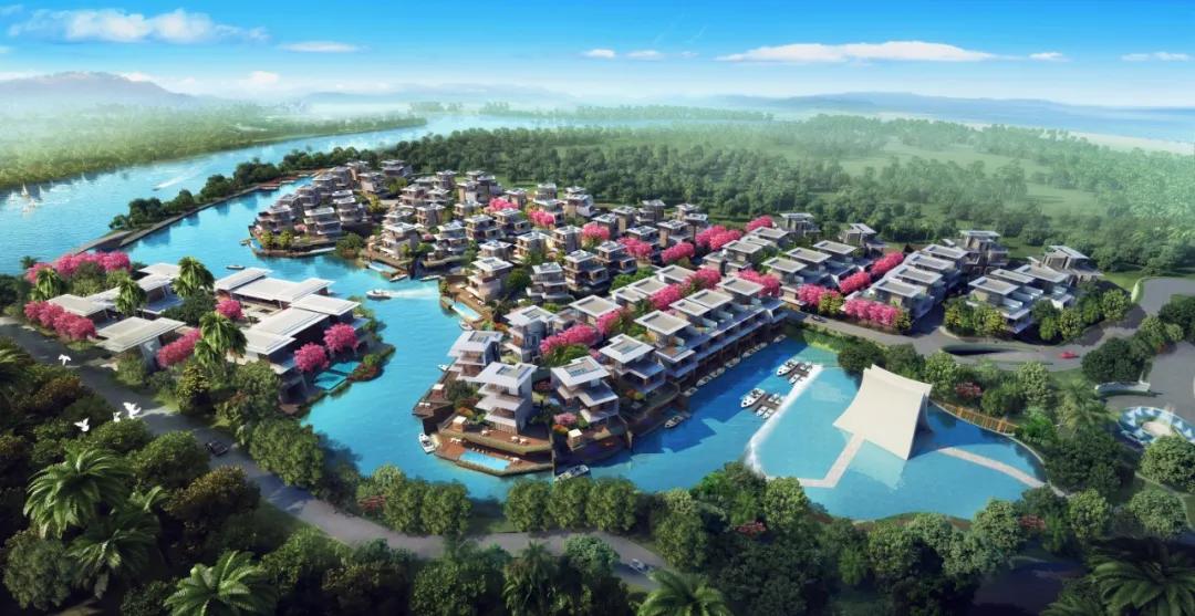 三亚国美·海棠湾,醉美养心境,优雅海中墅-45栋私属独栋别墅
