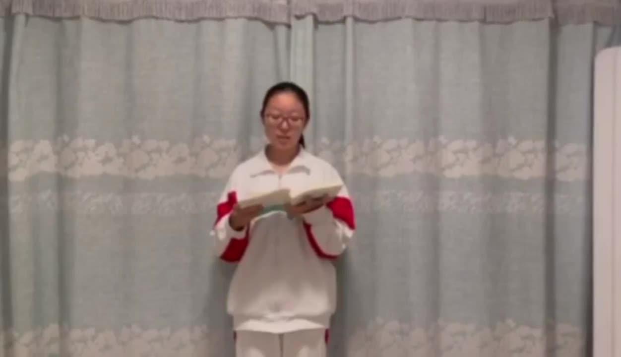 """【中学组·人文情怀】韩子萱 """"书籍是我们视接千载,心通四海的桥梁"""""""