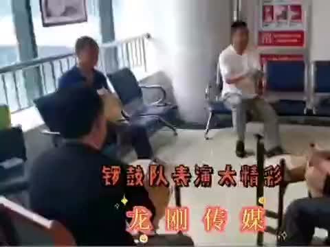 潍坊昌邑这锣鼓队演奏,表演太精彩了,真是高手在民间呀,奥利给