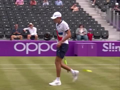 ATP女王杯草地赛:西里奇挺进八强