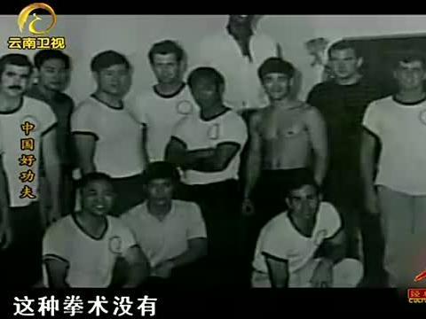 在电影《醉拳》中,黄麒英打的这套洪拳,有着南拳的典型特征