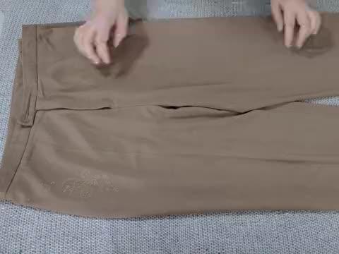 家里还有老款的裤子吗?只需剪一剪缝一缝,裤型大变时尚感满满!