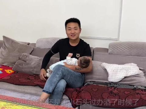 农村媳妇带老公儿子串门,女婿第一次去小茹外婆家,小石头像爸爸
