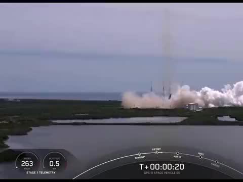 SpaceX为老美发射了GPS,这次火箭照样回收!