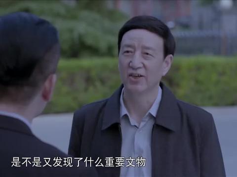 啊父老乡亲:工地发现文物被停工,李总一气之下,拿着瓷片去北京