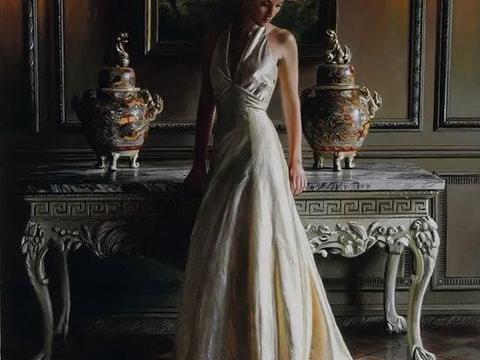 英国写实主义画家 Rob Hefferan 油画,犹如浑厚纯正的红酒!