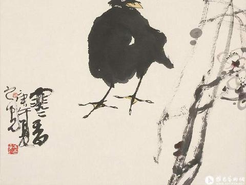 西安美院国画系主任张之光精品花鸟画作品欣赏