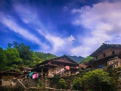 20年前飞机失事才被发现的浙江古村,700年历史,充满原生态美