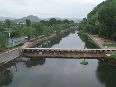 航拍济南柳埠玉水画廊,山青水秀风景如画,休闲游玩的好去处