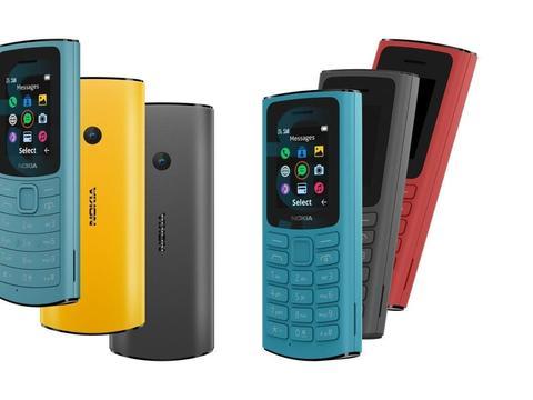 HMD推出Nokia 105/110 4G功能机:支持VoLTE高清通话
