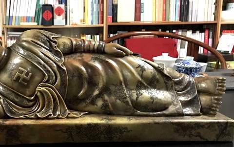 那份虔静、那份平和——寿山石雕收藏家黄坚佛像艺术展在福州开幕