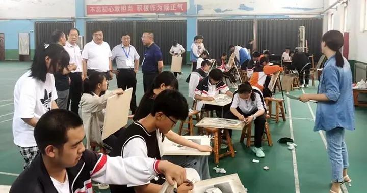 大荔县2021年体育特长生考试圆满结束