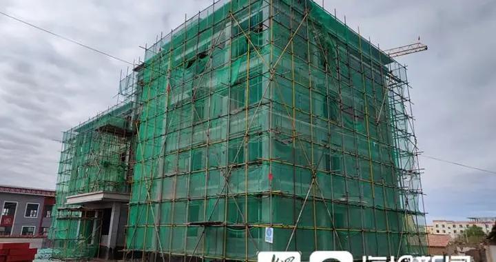 聊城援青敬老院项目9月底完工