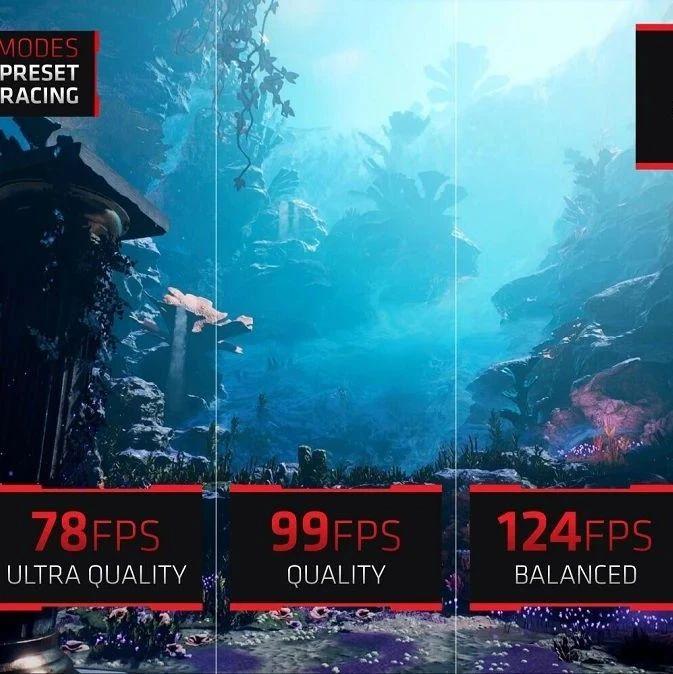 AMD FidelityFX Super Resolution已获得44家游戏开发商和19款游戏支持