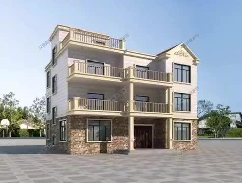156平大受欢迎的农村自建房设计,好户型好房子老人更喜欢