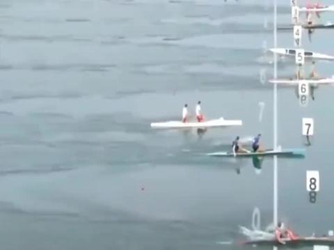 北京奥运男子赛艇,孟关良和杨文军0.2秒优势卫冕,创造水上奇迹