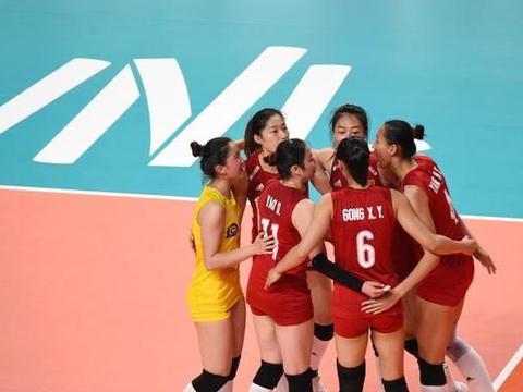 中国女排两名核心球员带来一喜一忧消息,世界女排联赛最新积分榜