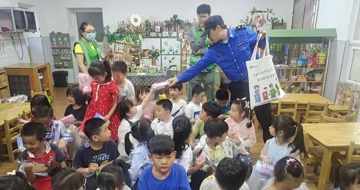 南京江北新区泰山街道:垃分宣传进校园,环保理念入童心