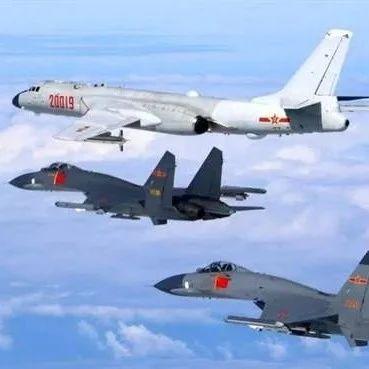 """解放军28架次战机巡航台湾岛,距离组织""""大动作""""一步之遥?!"""