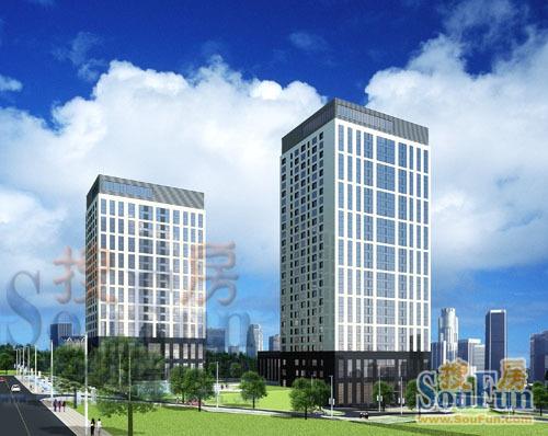 2021年6月青岛市浮山前商圈写字楼市场租赁情况